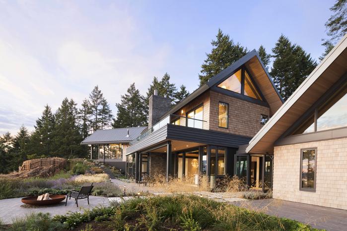красивый современный дом 1 (700x466, 432Kb)