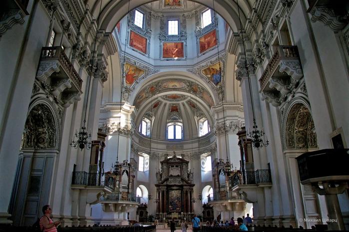 Зальцбургский собор (700x465, 393Kb)