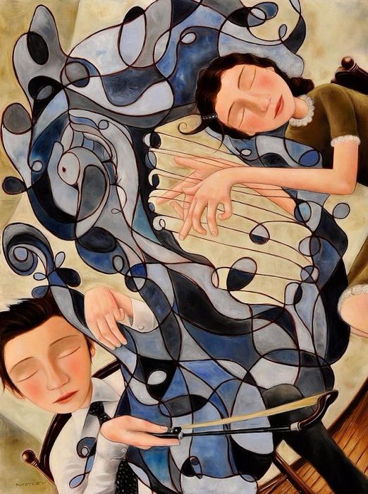 американский художник Lyle Motley (Лайл Мотли)2б (522x699, 477Kb)