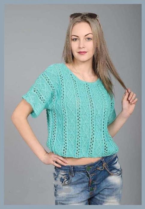 Пуловер С Цельновязанными Рукавами С Доставкой