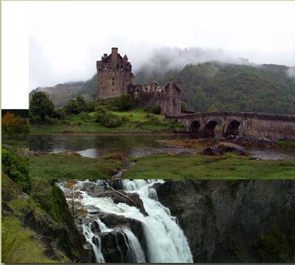 Водопад, Замок и Небо */3071837_07 (424x382, 32Kb)