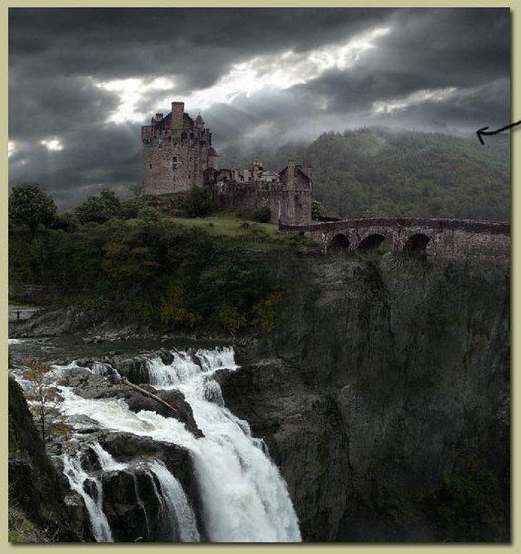 Водопад, Замок и Небо */3071837_13 (574x611, 66Kb)