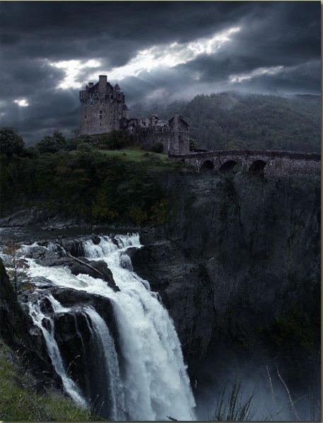 Водопад, Замок и Небо */3071837_15 (457x598, 49Kb)