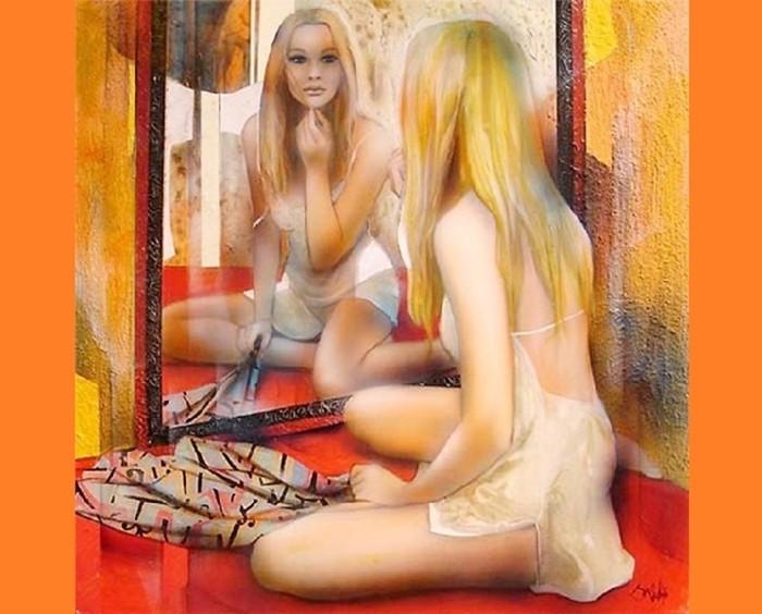 Художник Жан Батист Валади: чувственные женские портреты