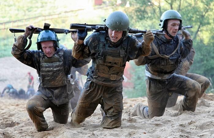 Краповые береты   элита спецназа России