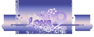 любовь розово-сиреневая (400x159, 69Kb)