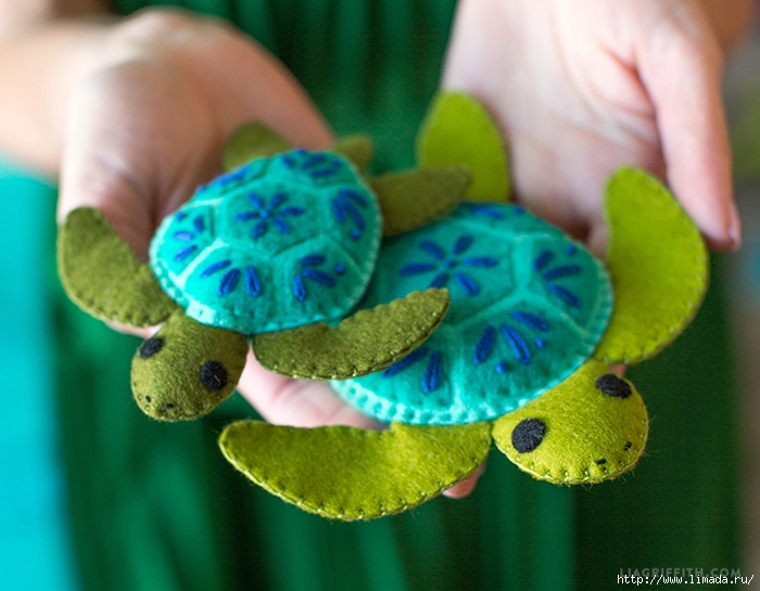 Felt_Stuffie_Turtles (700x545, 269Kb)