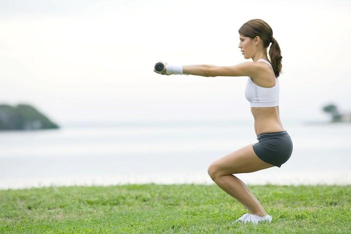 Топ 5 упражнении для общего тонуса