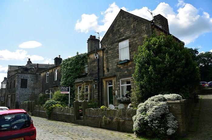 Деревня Хоэрт (Haworth), Великобритания