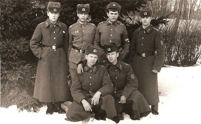Как посвящали в «деды» в Советской Армии