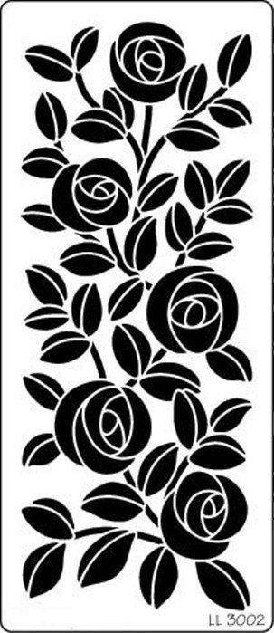 трафарет цветы (7) (303x699, 131Kb)