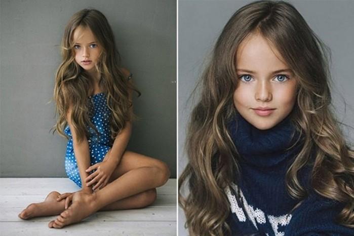 Успешные юные дети модели