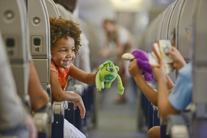 Авиаперелет с маленьким ребенком