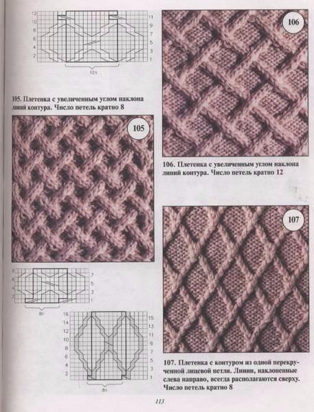 Сумка узором плетенка (7) (457x600, 209Kb)