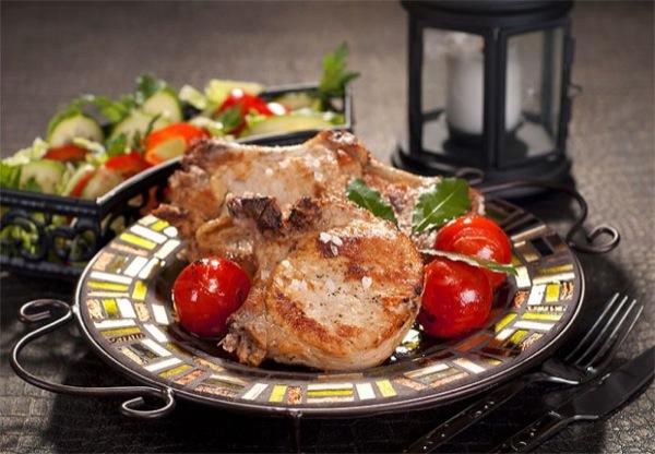 Свиная корейка на сковороде рецепт с фото