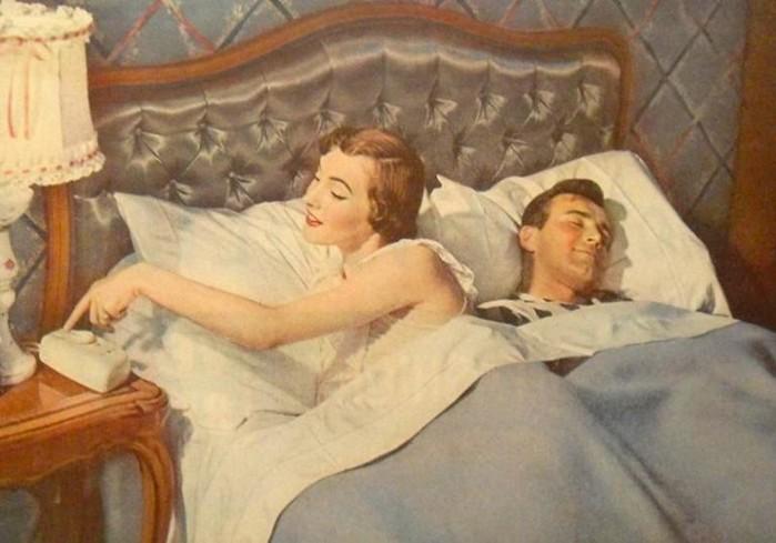 С какой стороны муж должен спать от жены