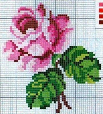 钩针拼接的玫瑰花床品 - maomao - 我随心动