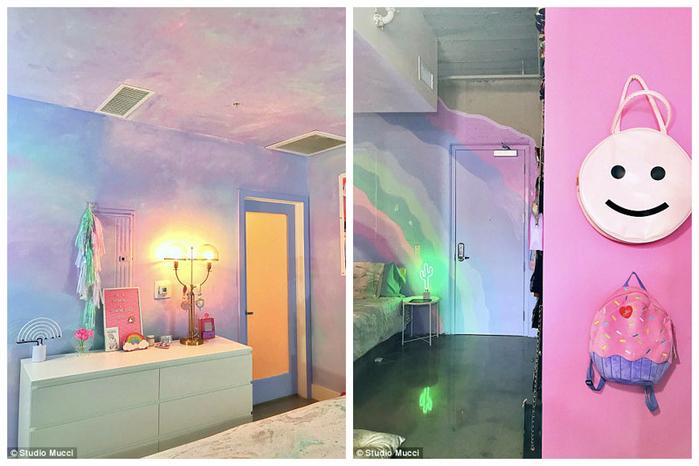 радужный интерьер квартиры 11 (700x466, 340Kb)