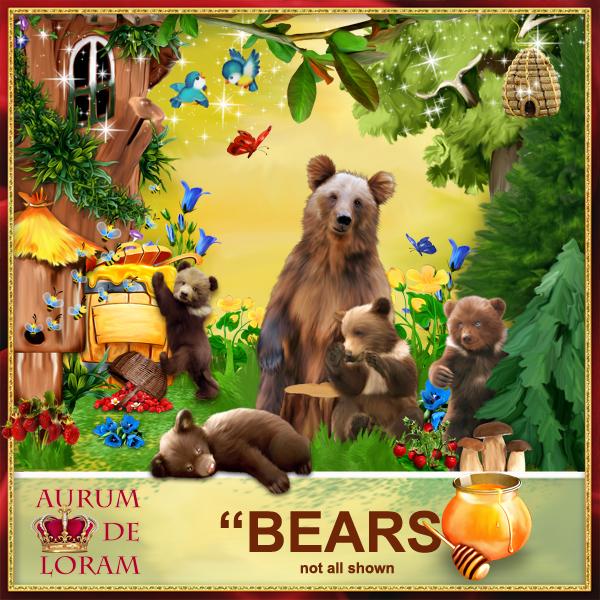 Bears by Aurumn De Loram1 (600x600, 464Kb)