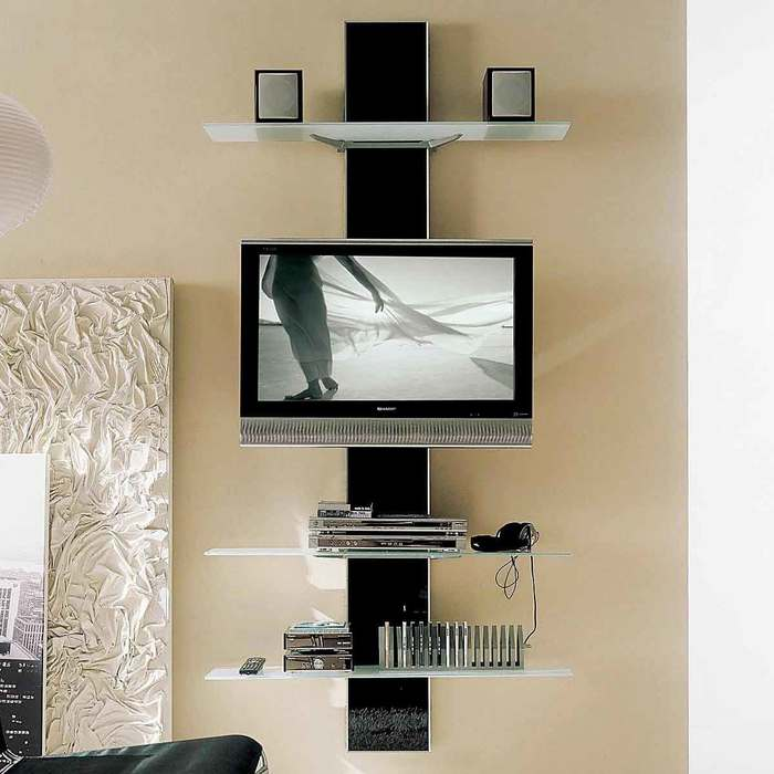 Breathtaking-Unusual-Tv-Stands-with-Modern-LED-TV-under-Two-Square-Speaker-above-DVD-Player-and-Nice-CD-Storage-beside-Artistick-Wooden-Carving (700x700, 44Kb)