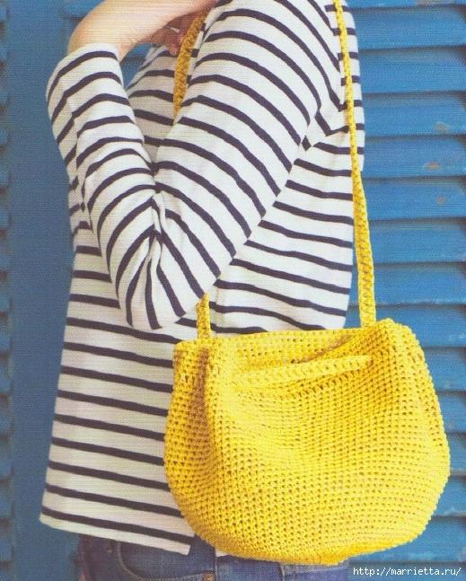 Две летние сумочки крючком. Схемы вязания (3) (519x647, 329Kb)