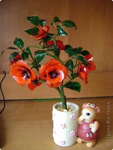 Цветы handmade из витражных красок. Мастер-класс (4) (360x480, 174Kb)