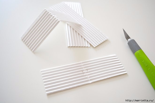 Домики - подвески из бумаги. Шаблон (9) (660x440, 82Kb)