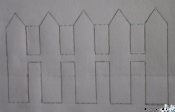 Открытка с забором своими руками (4) (700x449, 120Kb)