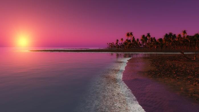 digital_coastal_beach_sunset-1280x720 (700x393, 42Kb)
