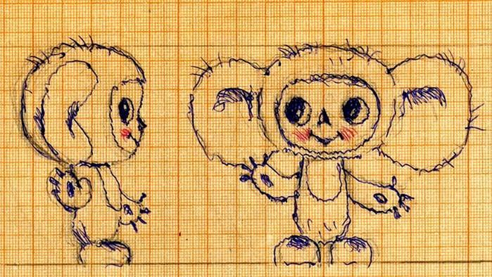 История создания мультфильма о Чебурашке и его друзьях