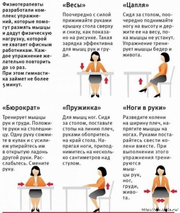 """alt=""""Эффективные упражнения сидя  для похудения""""/2835299__1_ (592x700, 266Kb)"""