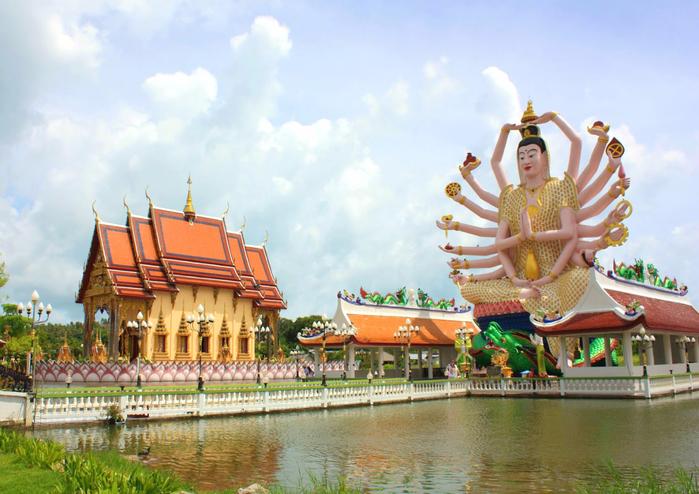 храм многорукого будды самуи 5 (700x494, 439Kb)