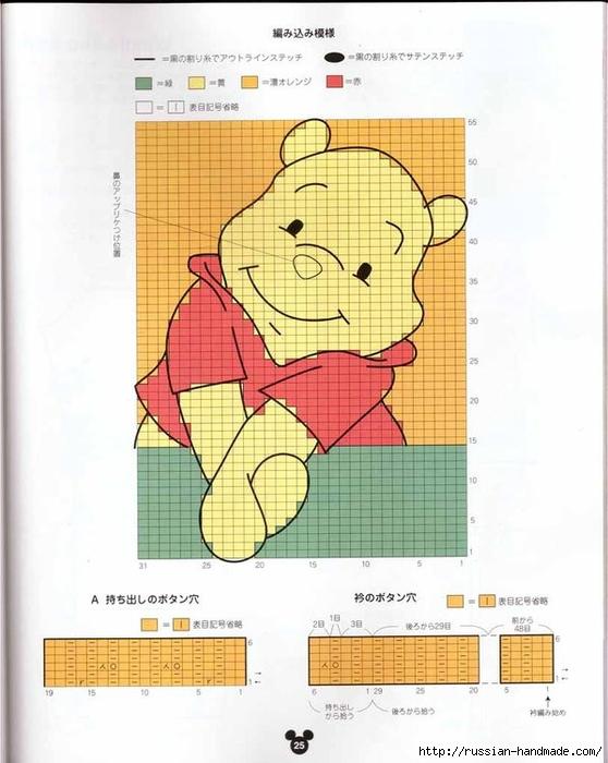 Детские модели спицами с героями диснеевских мультфильмов (8) (558x700, 226Kb)