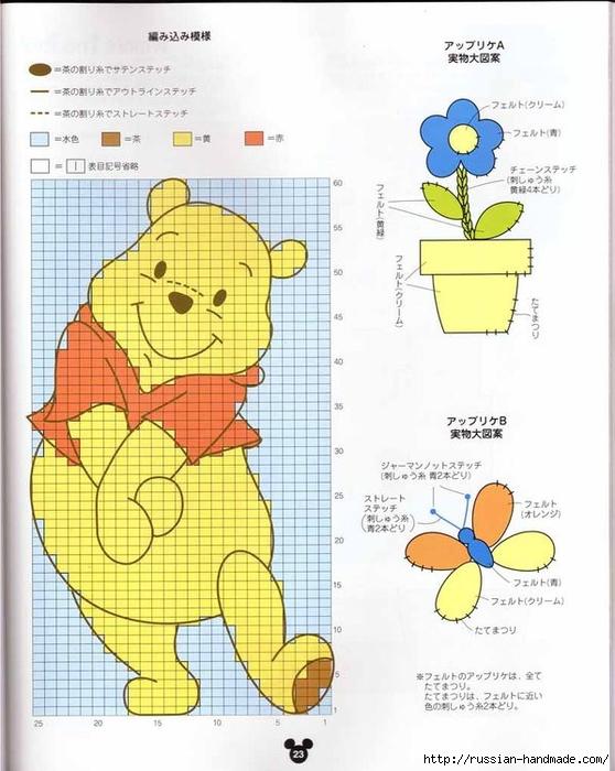 Детские модели спицами с героями диснеевских мультфильмов (11) (558x700, 251Kb)