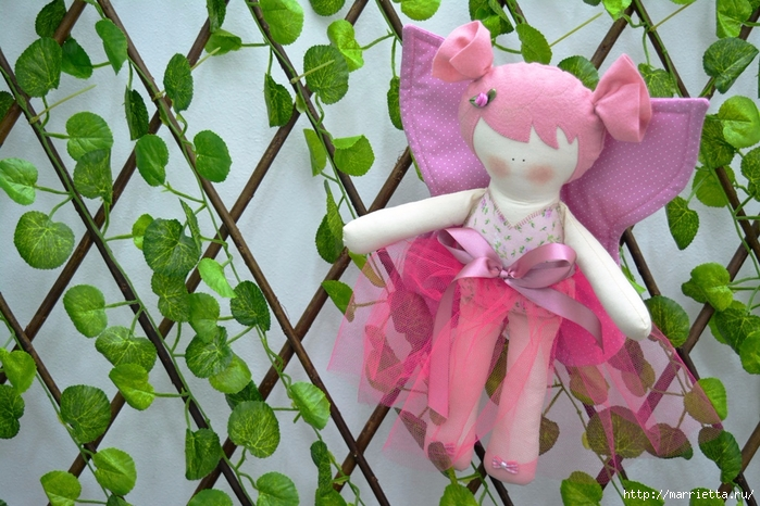 Текстильная куколка Бабочка. Выкройка (2) (700x466, 318Kb)