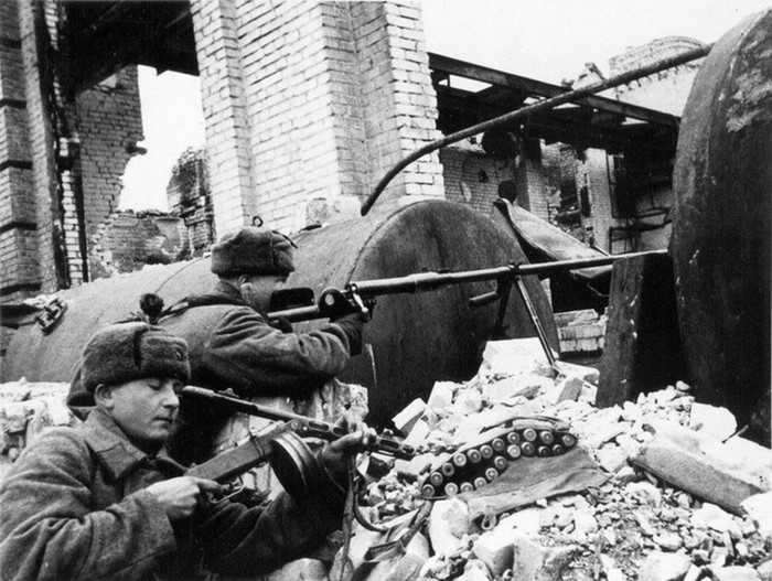 Как воевали под землей в Сталинграде
