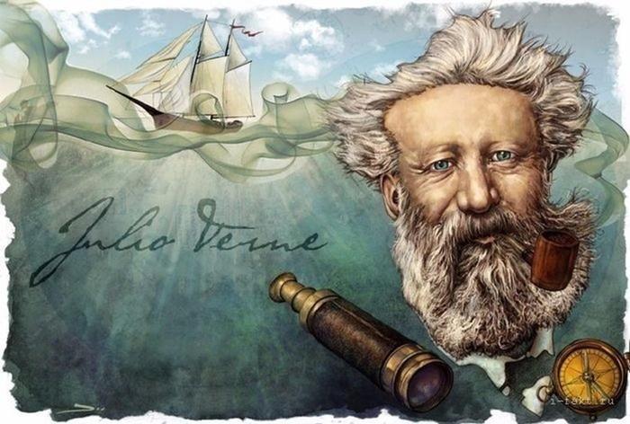 Любопытное: интересные факты о Жюле Верне