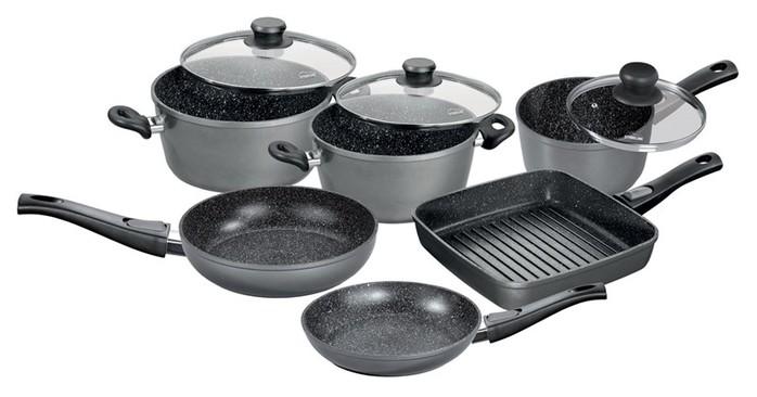 Посуда с каменным покрытием Stoneline - посуда с уникальными возможностями