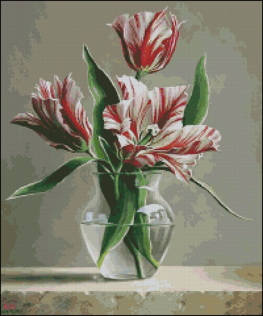 Тюльпаны в вазе_А (516x620, 398Kb)