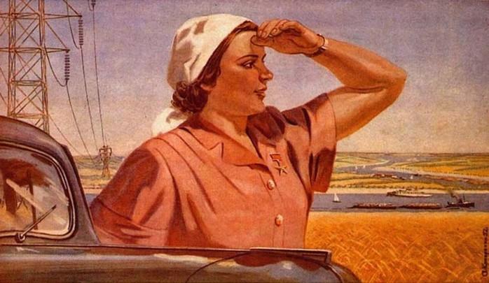 Какие женщины считались красивыми в советском колхозе