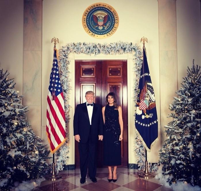 Как президенты встречают Новый год