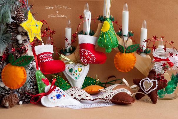 Новогодний и рождественский декор.