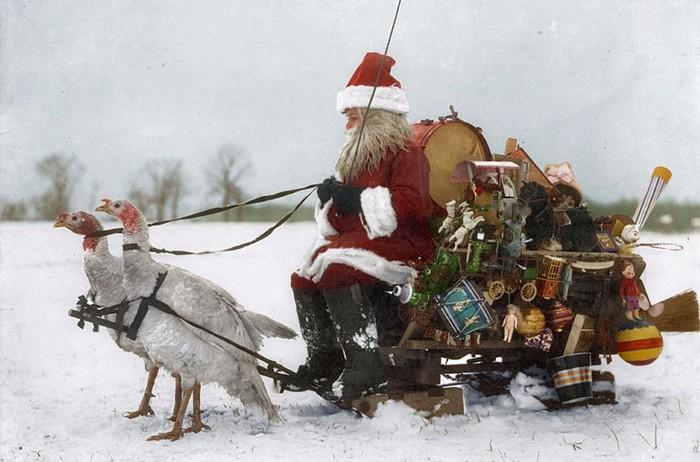 139389537 010218 1552 2 Новогодний винтаж. Как выглядел Санта Клаус 100 лет назад