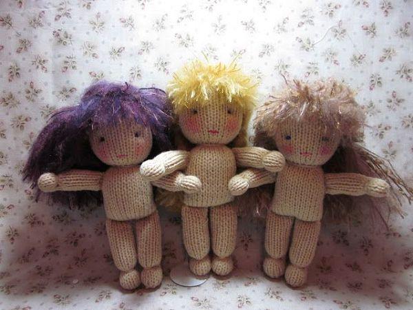 Как связать куклу своими руками спицами 29