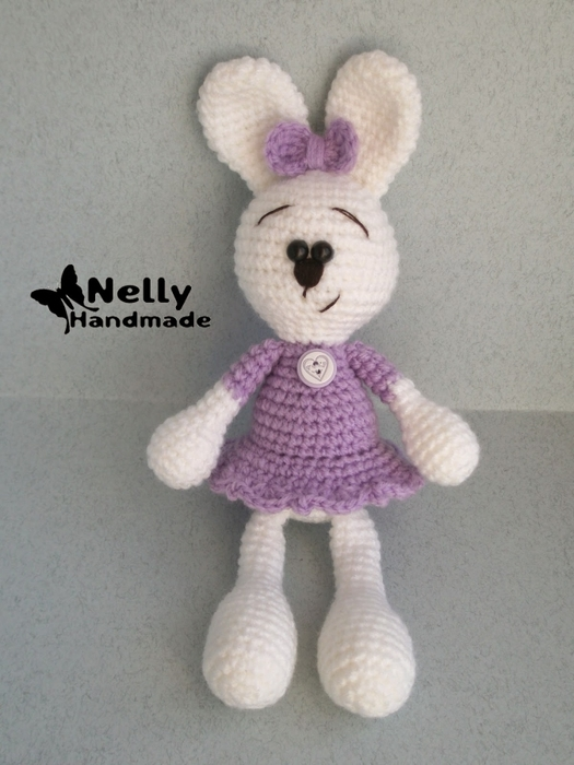 Очаровательная зайка от Nelly HM.