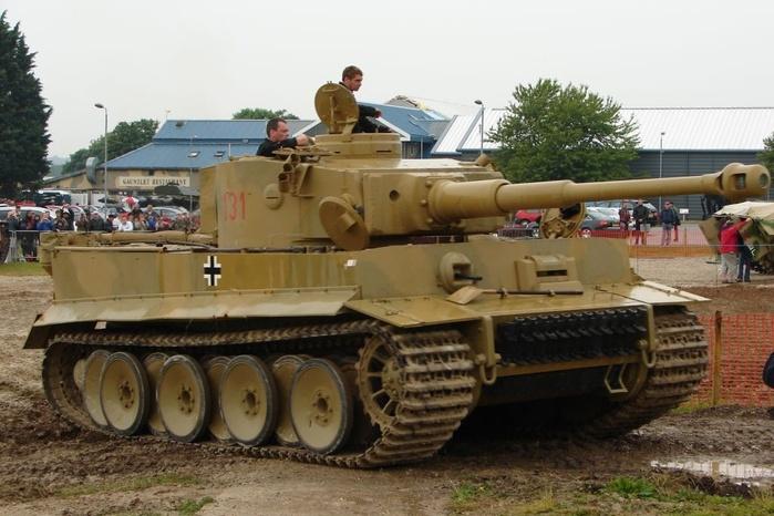 Почему немецкие танки «Тигр» считали лучшими во Второй мировой войне