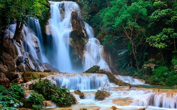 5 самых красивых каскадных водопадов