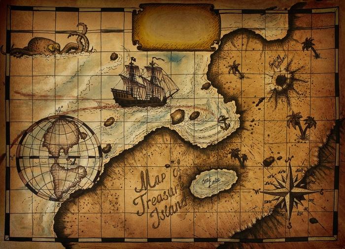 Существовал ли в действительности «Остров сокровищ»?