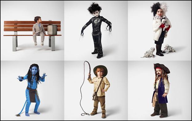 139565411 1 Детские образы известных киногероев