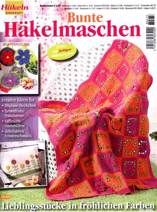 Bunte Hakelmaschen DE473 2018.